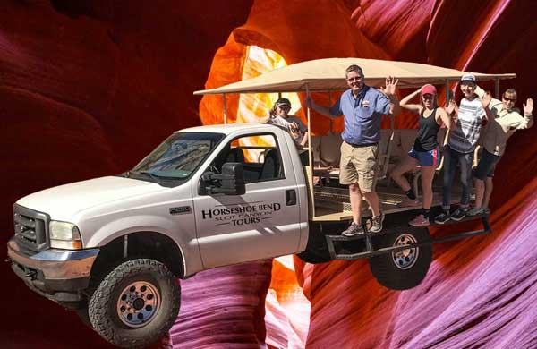 Horseshoe Bend Slot Canyon - New Truck