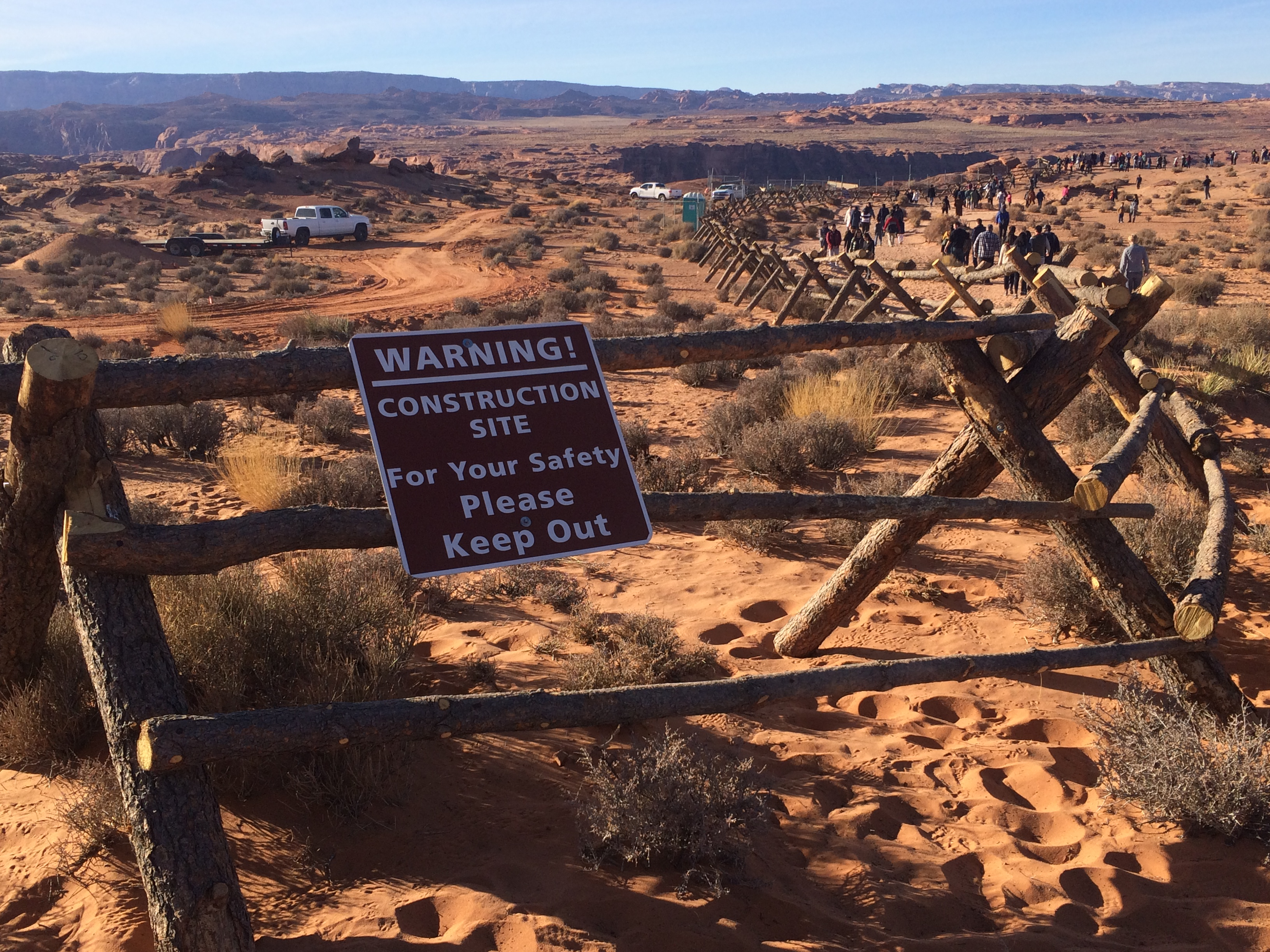 Trail Facility Upgrades Underway At Horseshoe Bend